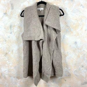 Loft Shawl Sleeveless Wool Vest 9